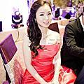 韓式彩妝歐系古典造型~采榛訂婚宴造型之新娘祕書