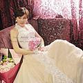 韓式彩妝歐風雅緻~甄 訂結婚宴造型