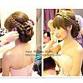 韓式優雅~櫻 結婚宴造型