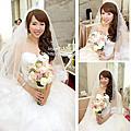 自然裸妝清新甜美~瑩 結婚宴造型