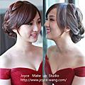 俊琪婚宴造型-新娘最愛的豐盈感編髮造型