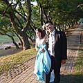婚紗照側拍_2009-09-16