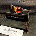 OO9252-10 法拉利款 OAKLEY太陽眼鏡 (訂製紅寶石水銀太陽鏡片並製作R-5.75 / L-4.25-0.50*97 鏡片)