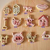 茱喜餅乾工作坊婚禮迷你餅乾目錄相簿封面