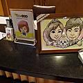 [活動]1111_Eric&Jill婚禮現場似顏繪