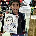[活動]平溪區公所模範母親表揚大會_現場人像漫畫