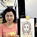 [活動]SOFINA現場漫畫人像_新光三越站前店