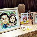 [活動]0401台南雅悅會館_婚禮畫家現場人像漫畫