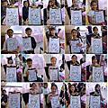 [活動]Emilia&Annabelle&Ashley的10歲生日派對_現場人像漫畫+人體彩繪