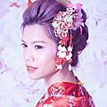 噴槍粉底+日本浴衣~我的卡哇伊新娘