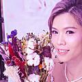 噴槍底妝+韓風新娘髮型