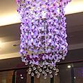 2010.12.26台南之旅~蘭花會館水晶吊燈.古坑咖啡
