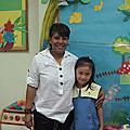 小柚子第一天上學
