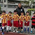 2015/2/7 鈞鈞  北投國中~足球賽(第二場)