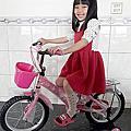 16吋 熊貓 兒童腳踏車(藍/粉紅色)