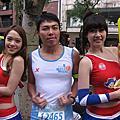 2011.12.18 富邦臺北馬拉松 我很認真拍正妹