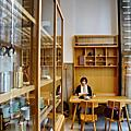 開化堂Café與銅製咖啡罐