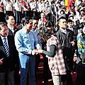 20130212馬英九總統至玉皇宮拜年
