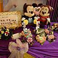 20091213土城雲林鵝肉城婚禮佈置~遇見幸福工作室~微笑花房~