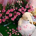 20100411午宴內湖家樂福5樓奇真美食廣場婚禮佈置~微笑花房~遇見幸福工作室