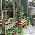 有花舖的咖啡廳-廚房餐廳
