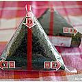 三角飯糰包法