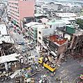 五股金紙廠後爆炸後街景