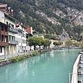 瑞士interlaken圖恩湖與洞穴探險