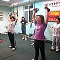 體能課程照片記錄