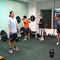 體能課程記錄