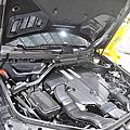 M-Benz GLE350D 測試 KCDesign 全車底盤結構桿(4件式)
