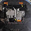 Volvo V40 T5 Drive-E 升級 KCDesign 鋁合金渦輪管