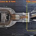 MB C43 安裝 KCDesign 全車底盤結構桿