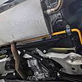 Volvo XC60 T5 (SPA底盤) 升級 KCDesign 24mm 實心後防傾桿
