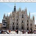2011義法之旅Day2~米蘭旅遊:米蘭大教堂