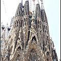 2012西葡之旅Day3~巴塞隆納:聖家堂Sagrade Familia