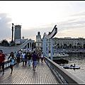 2012西葡之旅Day6~海上蘭布拉斯及貝爾港Rambla de Mar y Port Vell