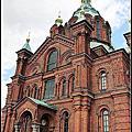 2013暑假北歐遊Day9~芬蘭赫爾辛基遊記:烏斯本斯基大教堂Uspenskin Katedraali