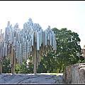 2013暑假北歐遊Day10~芬蘭赫爾辛基遊記:西貝流士公園Sibeliuksenn puisto