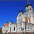 2013暑假北歐遊Day11~愛沙尼亞塔林遊記:亞歷山大涅夫斯基主座教堂Alexander Nevsky Cathedral
