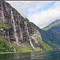 2013暑假北歐遊Day17~挪威峽灣遊記:蓋倫格峽灣Geirangerfjord