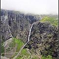 2013暑假北歐遊Day18~Nettbuss黃金之路The Golden Route之旅:精靈之路(Trollstigen Route)Trollstigen→安道爾森尼斯