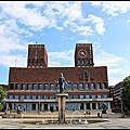 2013暑假北歐遊Day22~挪威奧斯陸遊記:奧斯陸市政廳Oslo Radhus