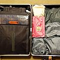 旅行回程行李收納