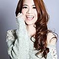 ☆ 2013 秋冬流行髮型 ☆ 染髮流行髮色:橙香亞麻橘 ViVI