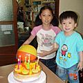 升升告別幼稚園的生日(2010.05.22)