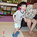 四歲還不會穿褲子的丟丟(2008.06)