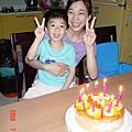 三ㄚ姨生日快樂(2008.08.01)