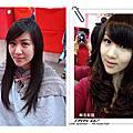 初次燙捲甜心 V.S 火星髮型設計師 【工作點滴...】Wendy lee 2014.03