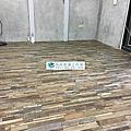 2018/1/25板橋復興路公寓住宅作品(使用RADY品牌 DJ1-02集層紋為導角木紋)
